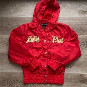Baby Phat red jacket.